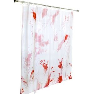Other - Bloody Bathroom Shower Curtain Halloween Decor